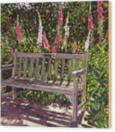 Huntington Spring Wood Print