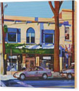 Huntington Village Wood Print