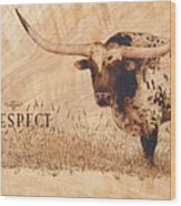 Hunt's Command Respect Wood Print by Jerrywayne Anderson