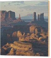 Hunt's Mesa View 7602 Wood Print