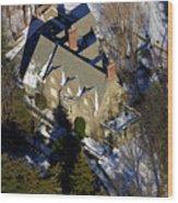 Huron Lane Philadelphia Pa 19119 Wood Print