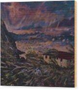 Hurricane Ballast  Wood Print