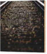 Hurtling Toward Me Wood Print