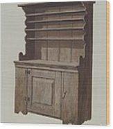 Hutch Dresser Wood Print