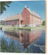 Hviderup Slott Wood Print