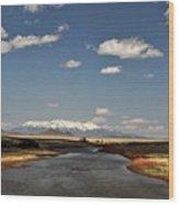 Hwy 142 Rio Grande River Wood Print