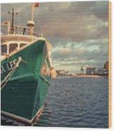 Hyannis Harbor Cape Cod Massachusetts Wood Print