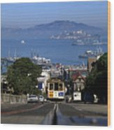 Hyde Street Cable Car 1978 Wood Print