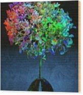 Hydrangea #1 Wood Print