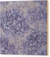 Hydrangea Blossom Abstract 1 Wood Print