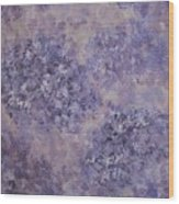Hydrangea Blossom Abstract 2 Wood Print