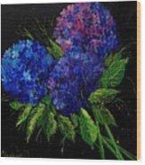 Hydrangeas 66 Wood Print