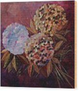 Hydrangeas 880130 Wood Print