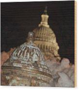 Hydrant Capitol Washington Dc Wood Print