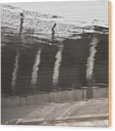 Hydro Dam Number One Wood Print