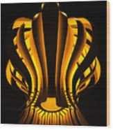 Hydrozoa Wood Print