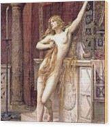 Hypatia  Wood Print