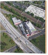 I-95 New Rochelle Wood Print