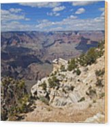 I Can See For Miles And Miles - Grand Canyon Wood Print