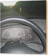 I Can't Drive 45...... Wood Print