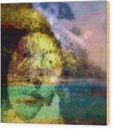 I Ini O Ka Naau Wood Print