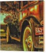 I Love This #classiccar Photo I Took In Wood Print