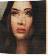I Love You Miriam Cassidy Wood Print