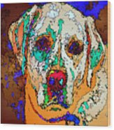 I Love You. Pet Series Wood Print