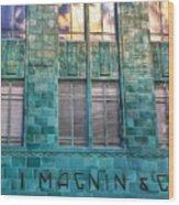 I. Magnin Oakland Wood Print