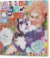 I Remember Lacey Wood Print