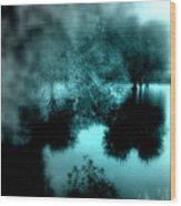 I Riflessi Della Nebbia Wood Print
