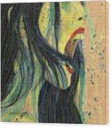 I Scream For You Liv Tyler Wood Print