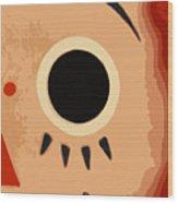 I See You Wood Print by Diane E Berry