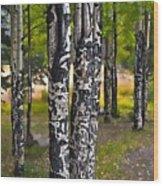 I See You - The Aspens Wood Print