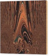 I Think I Am Sad-said The Little Clown Wood Print