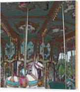 I Want The White Horse Wood Print