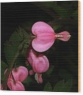 I Want To Bloom My Way Wood Print