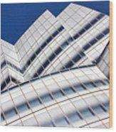 Iac Building Wood Print