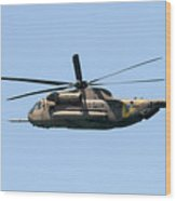 Iaf Sikorsky Ch-53 Helicopters Wood Print
