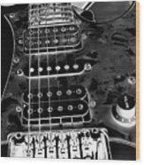 Ibanez Guitar Wood Print
