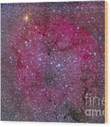 Ic 1396 And Garnet Star In Cepheus Wood Print