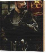 'ic Cunnan Laeccan Yis Vilein Robyn Hode' Wood Print