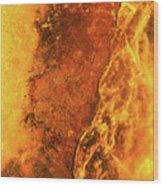 Ice Art #217 Wood Print