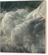 Ice Cap 2 Wood Print