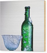 Ice Cold Drink Wood Print by Dirk Ercken