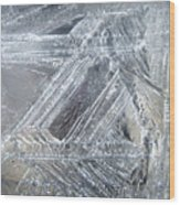 Ice-cold Morning Fantasy Wood Print