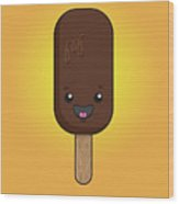 Ice Cream Time Wood Print