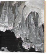 Ice Fantasy Wood Print