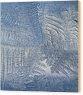 Ice Galore Wood Print