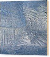 Ice Galore Wood Print